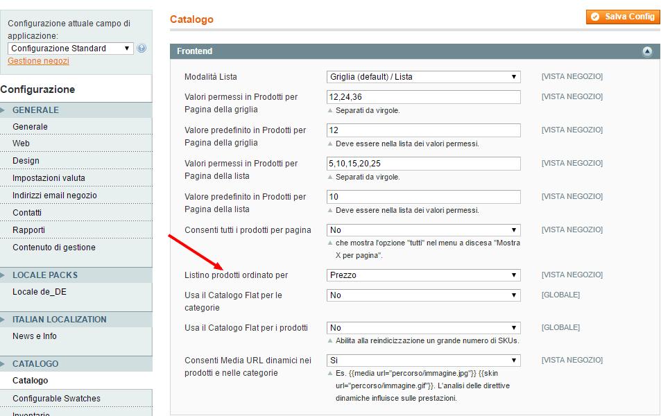 configurazione-sistema-magento-admin