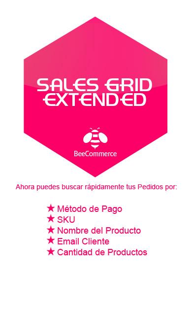 Módulo Sales Grid Extendend