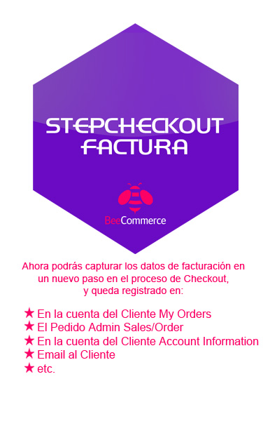 Módulo Stepcheckout Factura