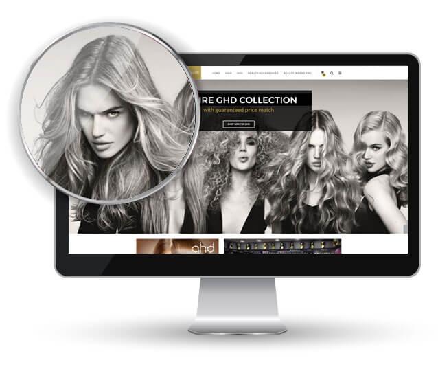volumize magento shop desktop view