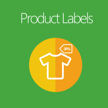 product labels for magento