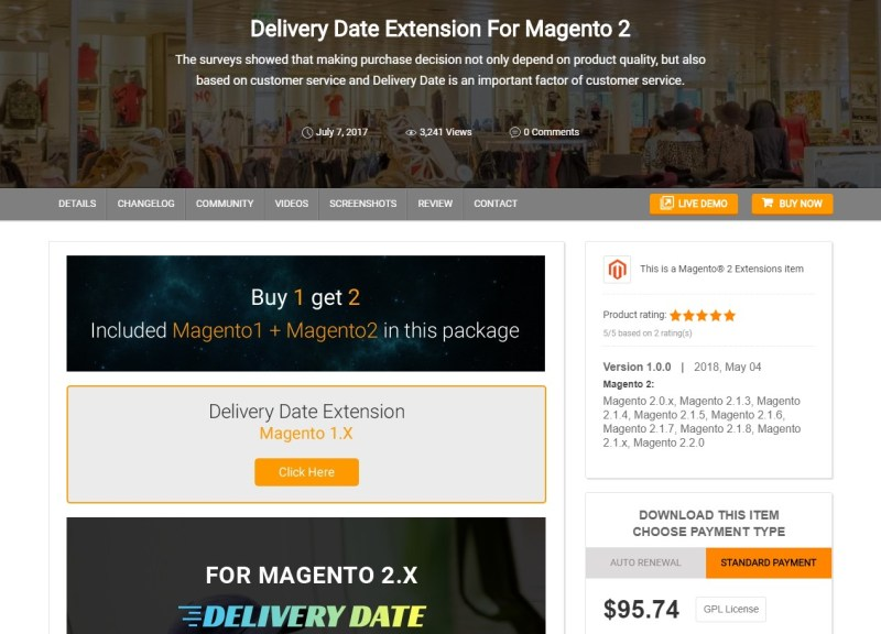 Magento 2 Delivery Date Extensions by CMSmart