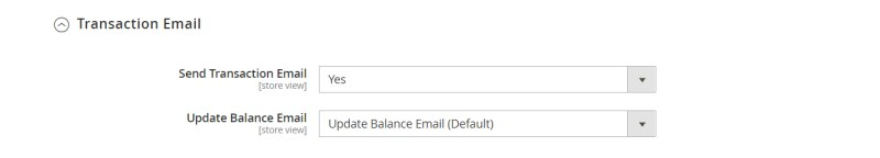 Transaction Email (Email Configuration)