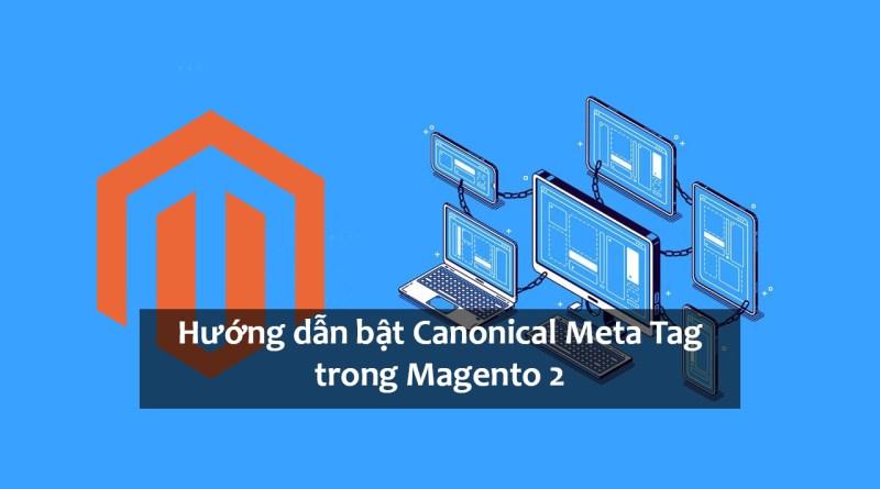 Hướng dẫn bật Canonical Meta Tag trong Magento 2