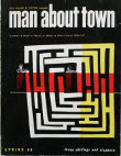 man about town 1959 spring cover