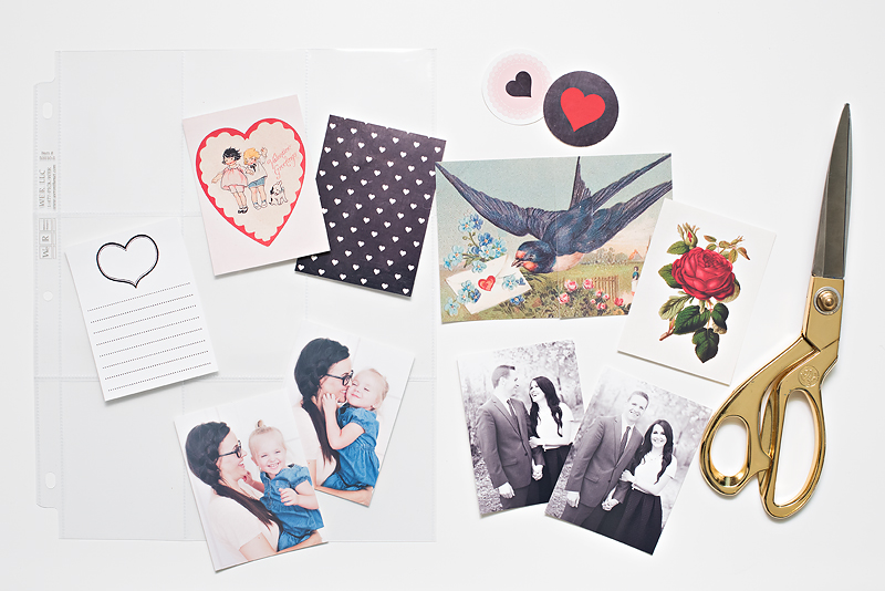 Maggie Holmes Valentines Printables Pocket Page-1