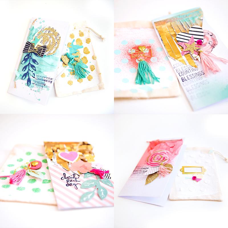 embellished bags DIY