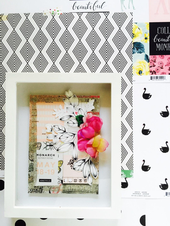 Floral photo frame 3