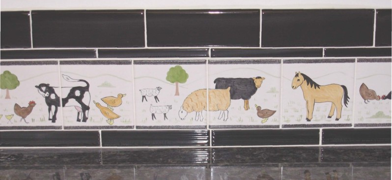 Hand Painted Tilesceramic tile muralsbespoke designs and