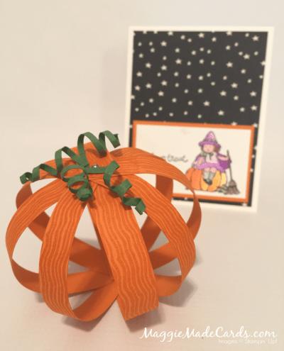 Pumpkin Paper Strips