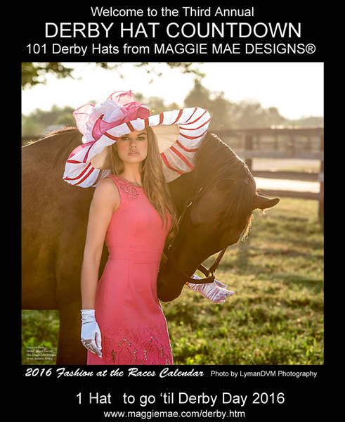 Third Annual Derby Hat Countdown by MAGGIE MAE DESIGNS