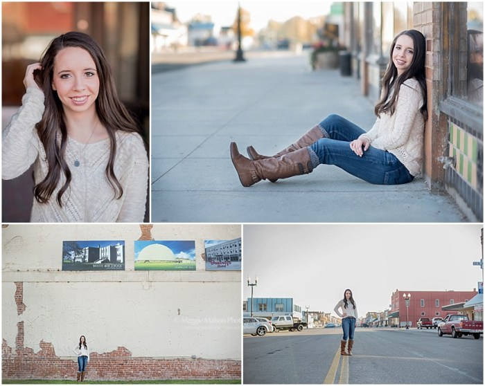 Payette High school senior girl