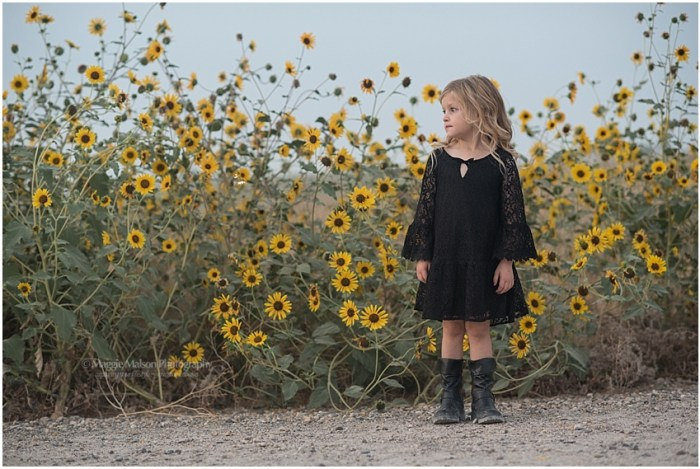 sunflower girl