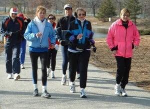 group jog