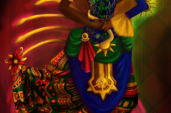 Digital Painting #12: Sundiata's Daughter