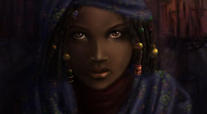 Digital Painting #13: Rebekkah Before Nkros