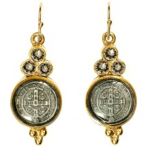 Virgins Saints And Angels San Benito Lucia Earrings - Maggies