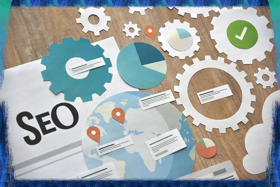 Picture showing topic of SEO.
