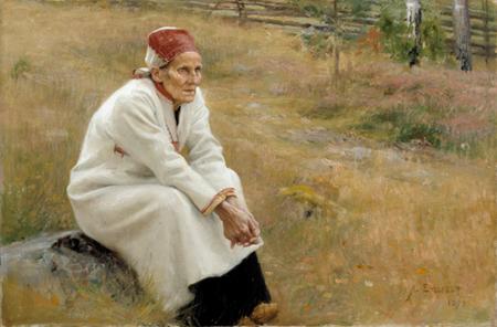 Larin Paraske Artist: Edelfelt 1893