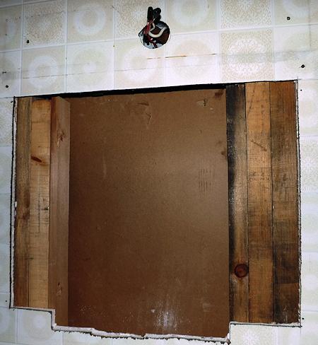 Bathroom medicine cabinet light removal