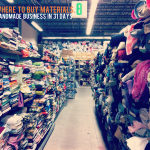 {Handmade Business in 31 Days — Day 6, Where to buy materials.}