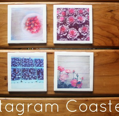 {Instagram Coasters // DIY}