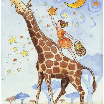 Win FOUR watercolor prints from Jane Heinrichs Illustrations