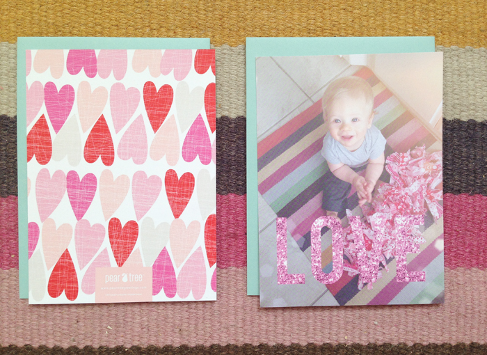 Custom Valentines Day Cards Featuring Maxwell Maggie Whitley Designs