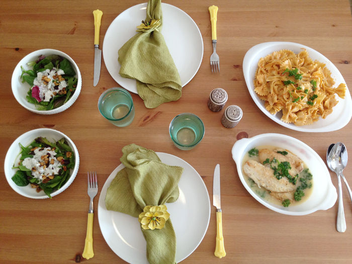 how to serve a fancy dinner by maggie whitley