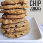 """The Best"" Chocolate Chip Cookies."