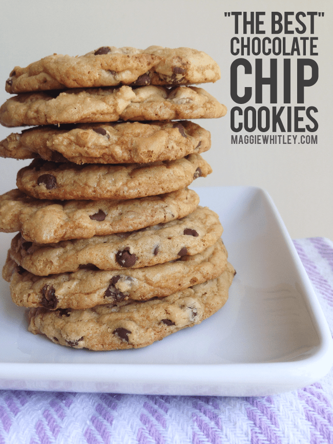 """the best"" chocolate chip cookies 
