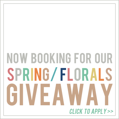 Now booking for our Spring giveaway bundles!