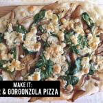 MAKE IT: pear & gorgonzola pizza!