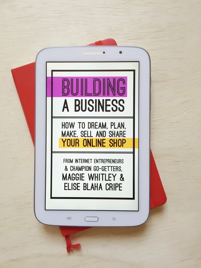 building a business ebook BY maggie whitley & elise blaha cripe