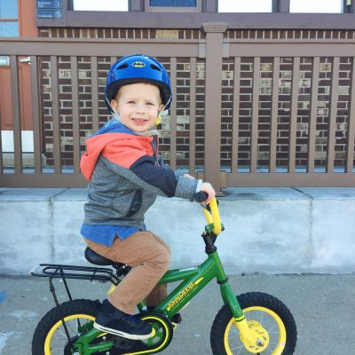 A bike ride to the dentist!