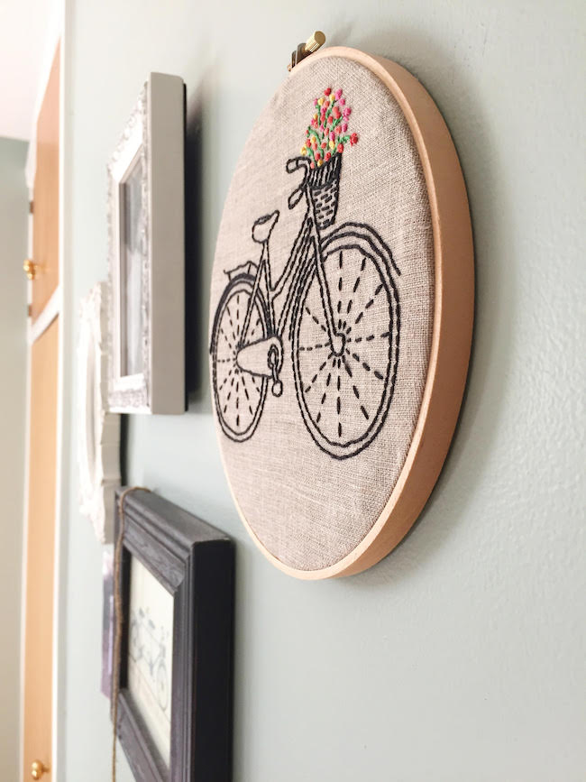 bike embroidery maggie whitley