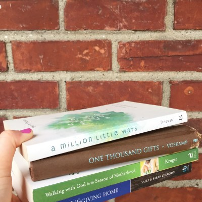 Four books that have wonderfully changed my life…