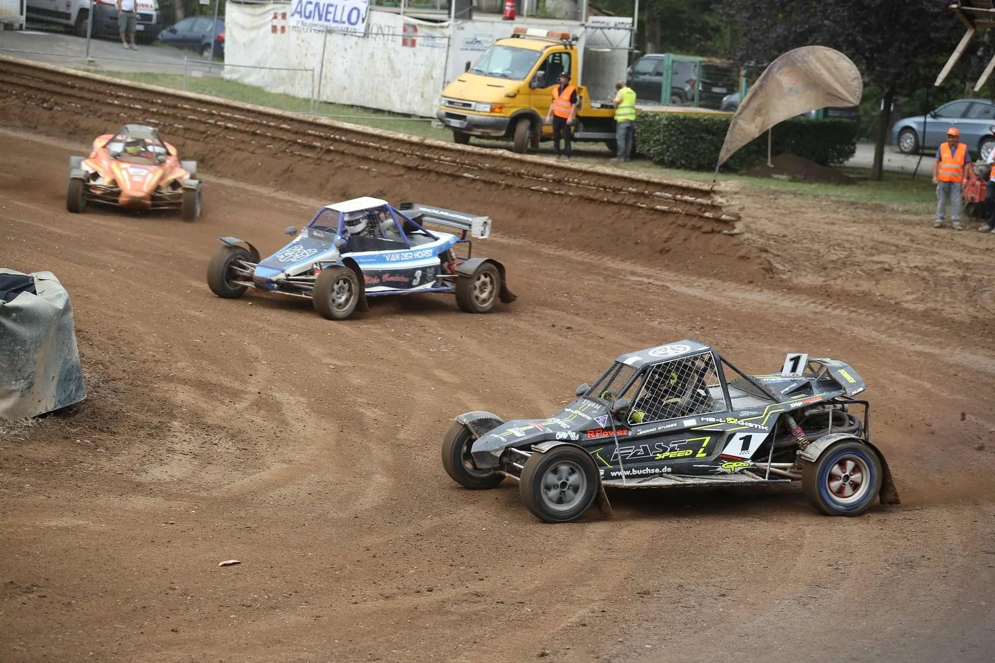 Campionato Europeo Autocross, adrenalina allo stato puro