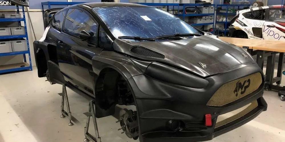 """La Ford Fiesta WRX """"ex Kevin Eriksson"""" arriva in Italia"""