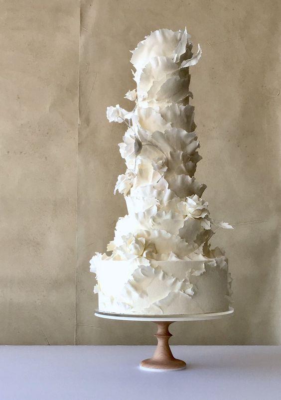 Wedding cake 2019 le tendenze per una torta nuziale buona e glam