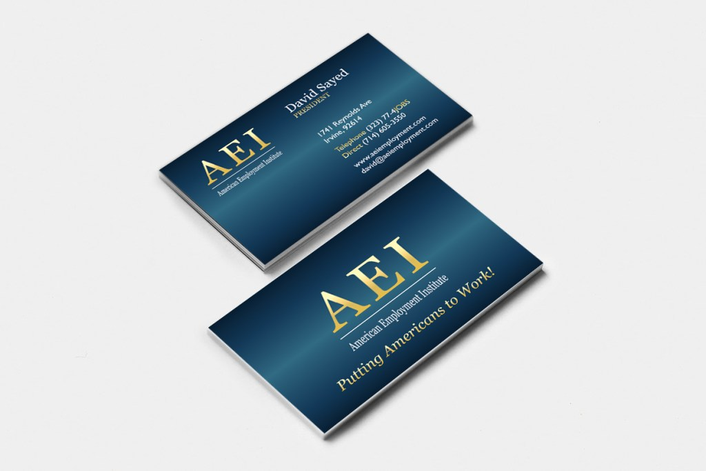 BusinessCard AEI American Employmente Institute