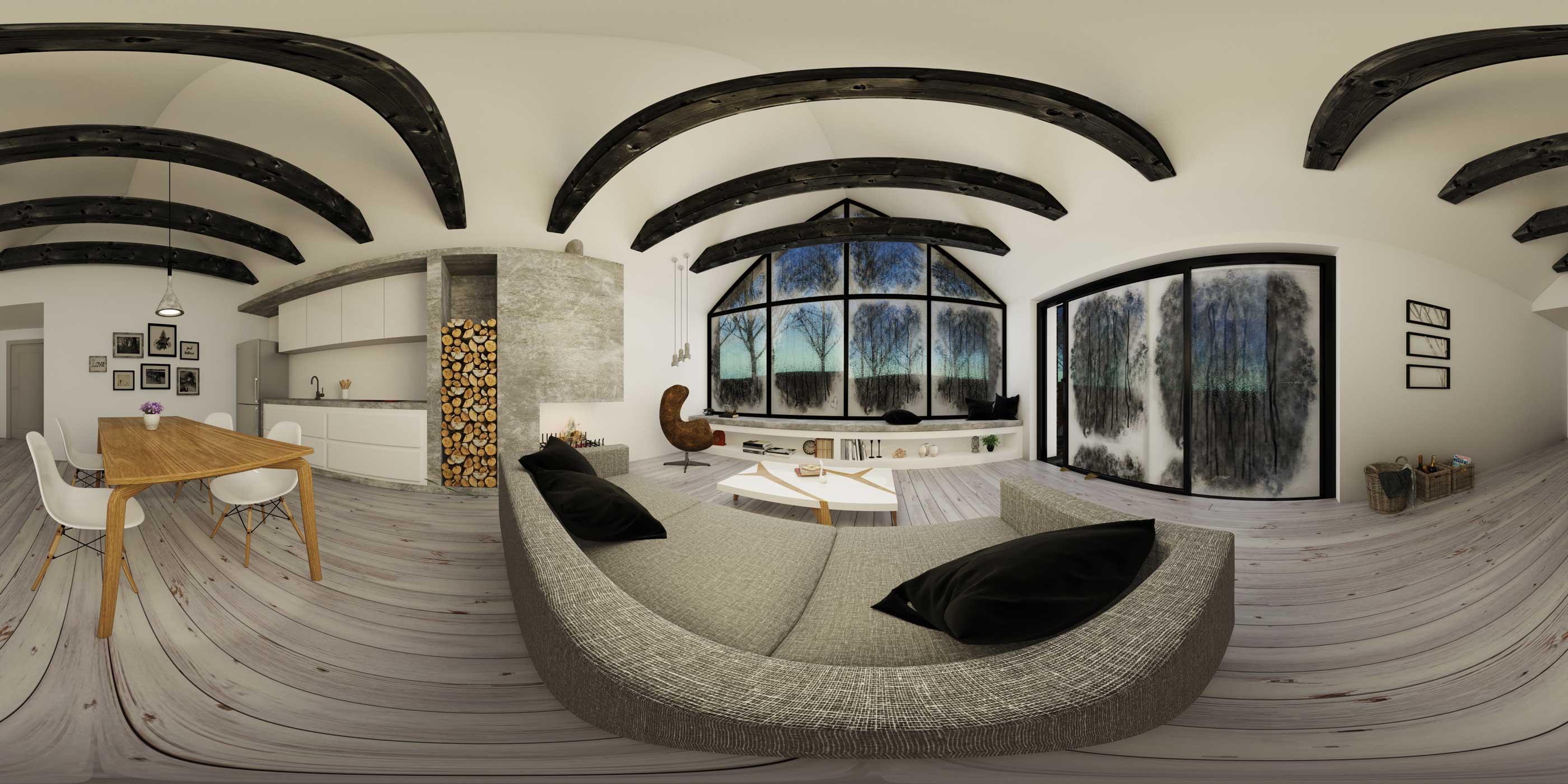 Interior Small House 360