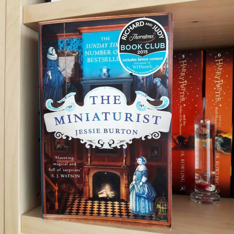 Couverture The Miniaturist de Jessie Burton