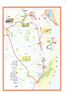 NEW SEFTON CYCLE ROUTE MAP 002