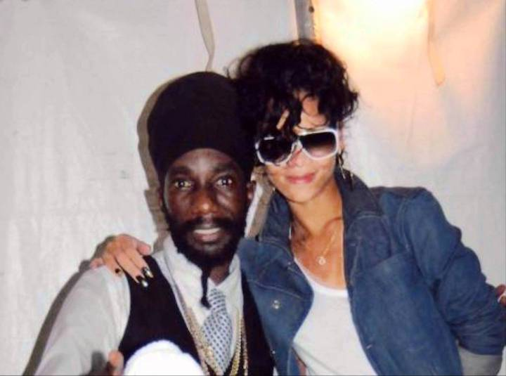 Rihanna Reportedly Working On New Music With Sizzla & Buju