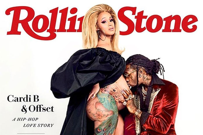 Cardi B And Offset Welcome Baby Girl With Most Interesting: Cardi B And Offset Cover Rolling Stone
