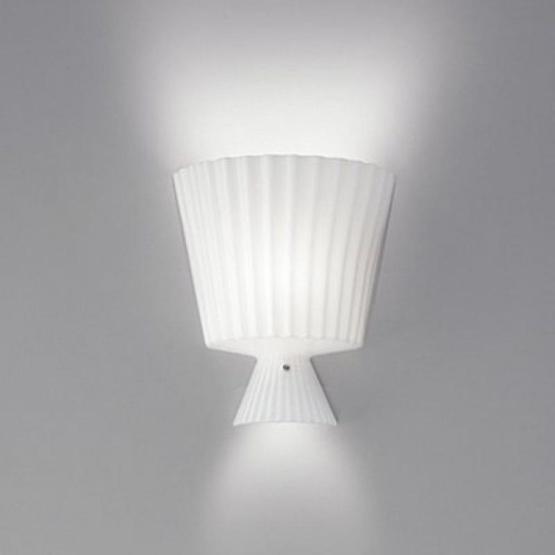 Leucos Lampada Da Parete Katerina P22 Bianco