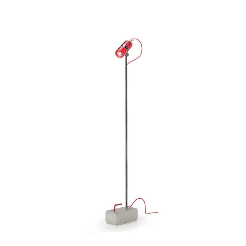 Leucos Shaker TR 1 Lampada Da Terra Base Cemento