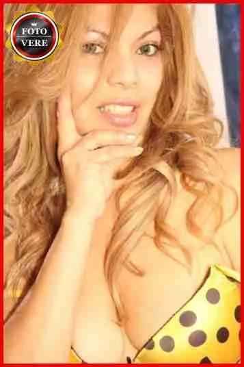 Diamante escort Roma sceglie il suo viso per l'anteprima del suo annuncio online
