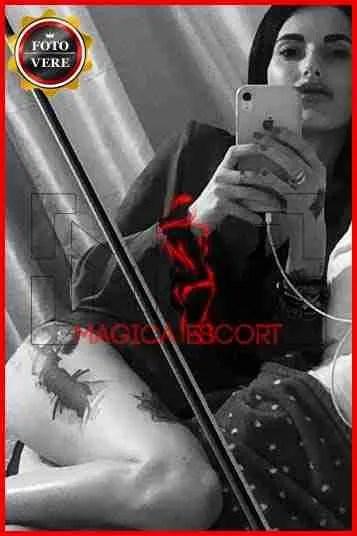 Giovane accompagnatrice Roma. Alessia su Magica Escort